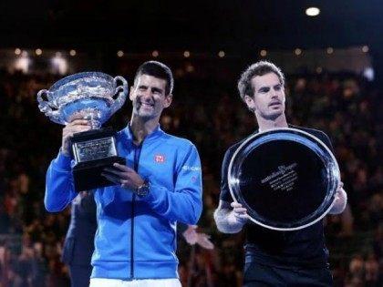 Novak Djokovic and Andy Murray Ausie Open