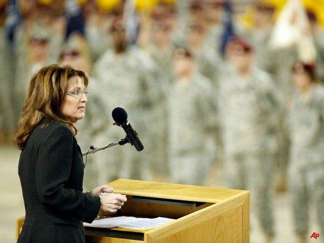 Palin Troops AP