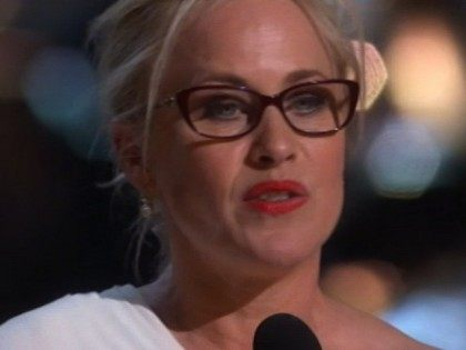 Sunday at the the 87th Academy Awards, while accepting her …