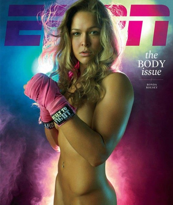 Ronda Rousey ESPN the Body Issue