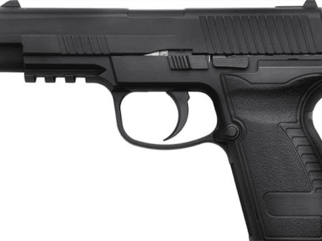 Replica handgun (Associated Press)