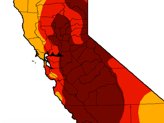 Drought map (NOAA)