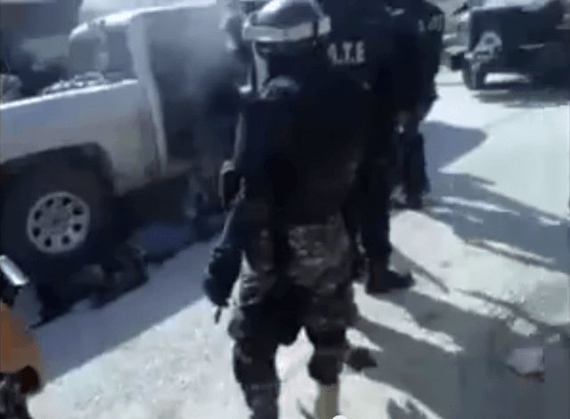 Mexican Cartel and Police