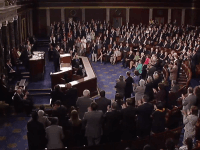 Calderon addresses Congress (Screenshot / YouTube)