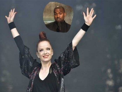 Shirley Manson and Kanye