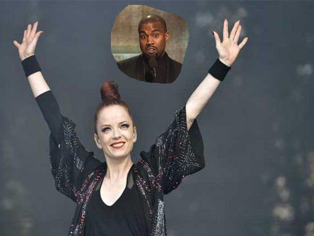 Shirley Manson and Kanye