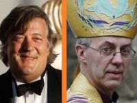 Stephen Fry Archbishop Welby Reuters