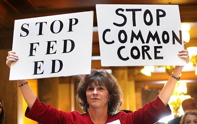Stop Common Core - AP Photo