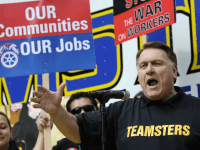 Teamsters Hoffa (Phil McCarten / Reuters)