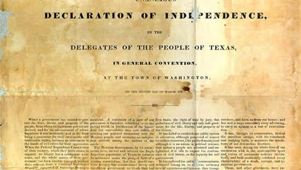 Texas Declaration of Independence - Texas Library and Archives Commission
