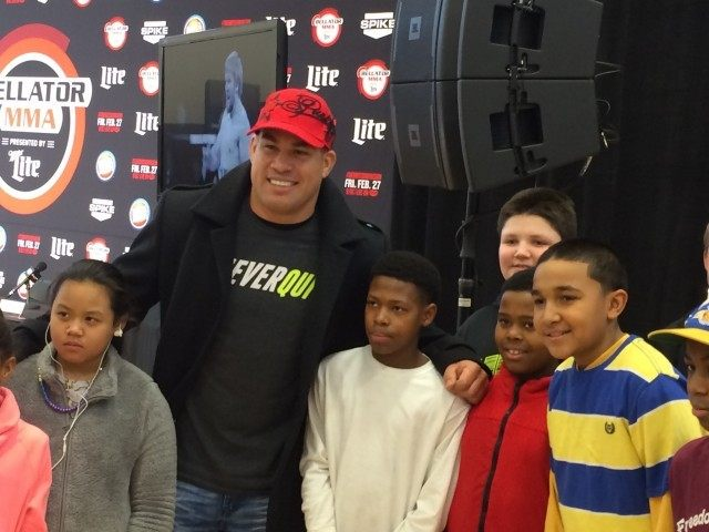 Tito Ortiz and Kids