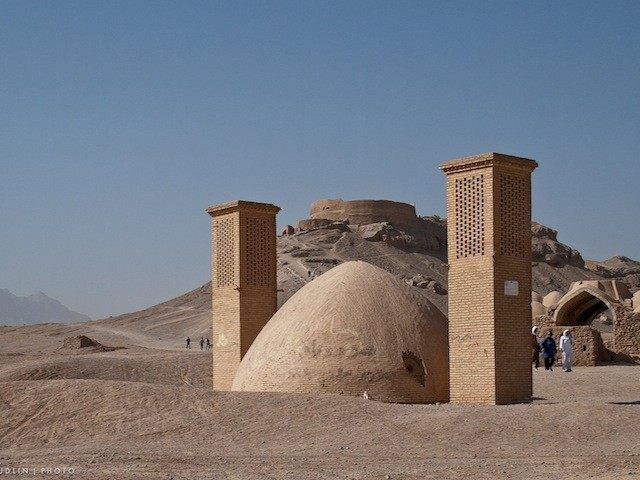 Tower of Silence, Wind Towers and Ice Chamber, Yazd, Iran