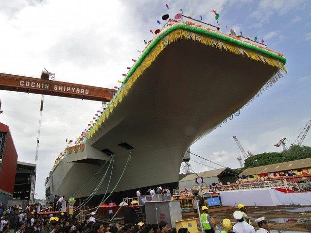 VIKRANT India Aircraft Carrier Reuters