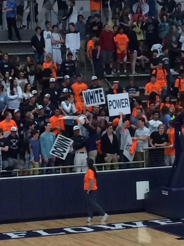 White Power in Bleachers