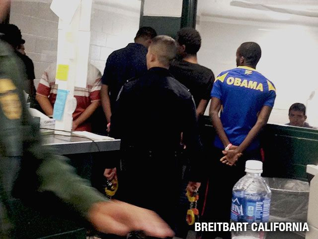 CBP Border arrest, fall 2014 (Breitbart California exclusive)