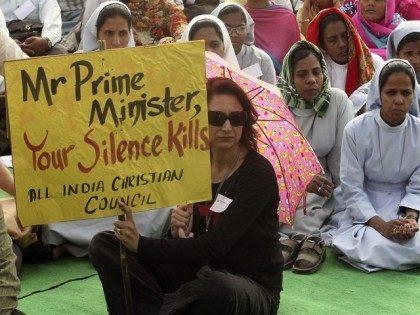 christian-protestors-india