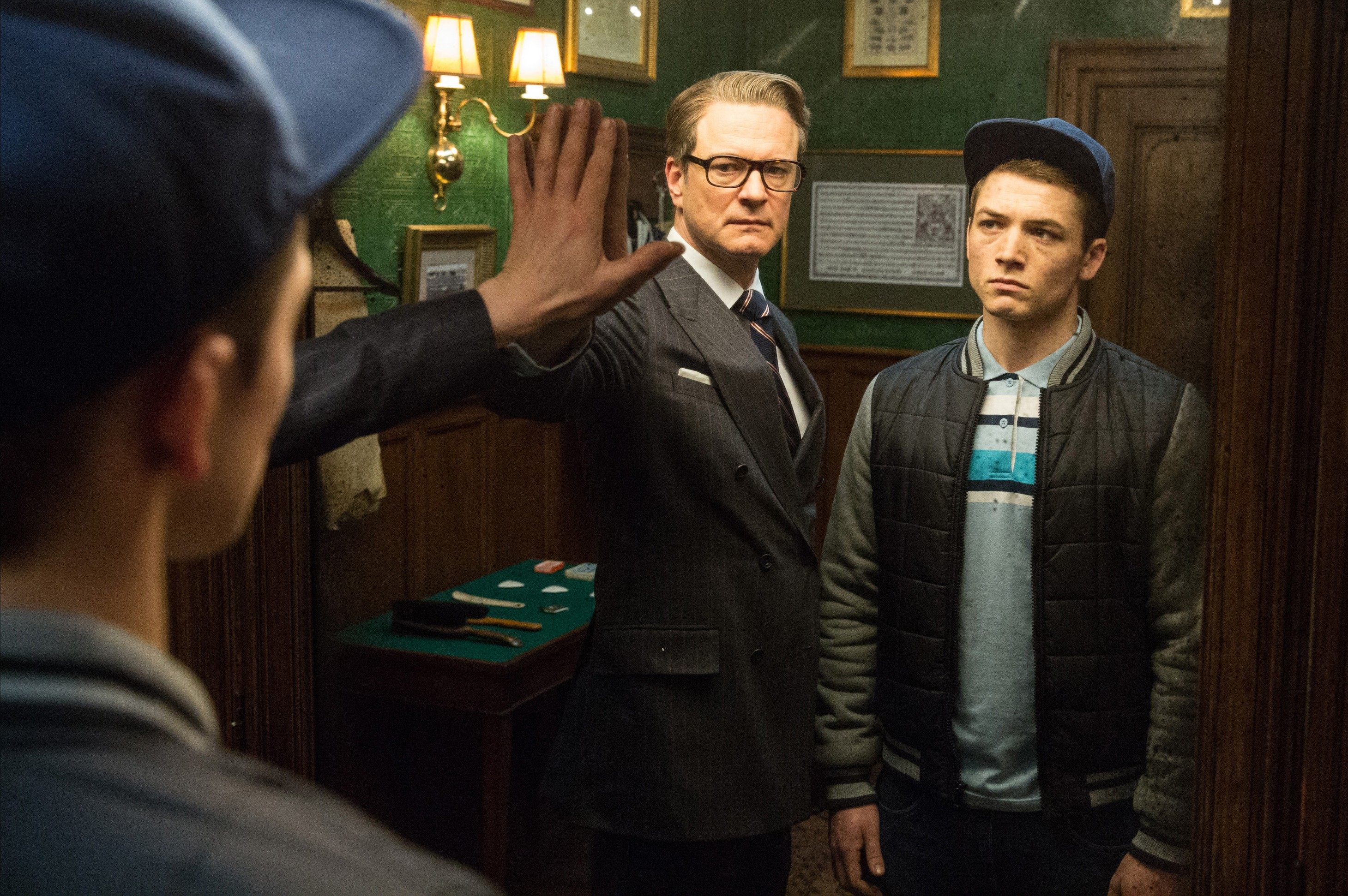 Kingsman The Secret Service Interview Taron Egerton: 'Kingsman' Review: Satisfying, Stylized Vengeance Against