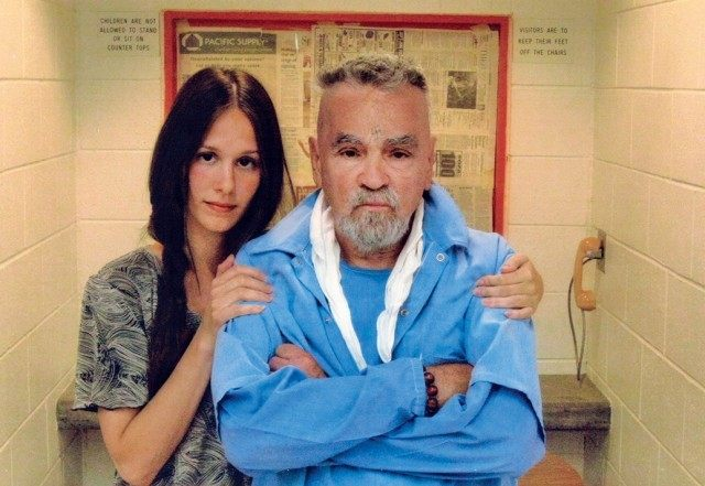 Charles Manson and wife