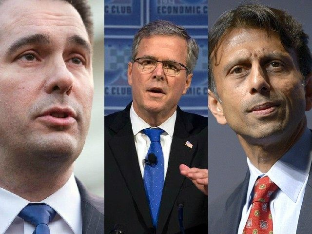 Scott Walker Jeb Bush Bobby Jindal