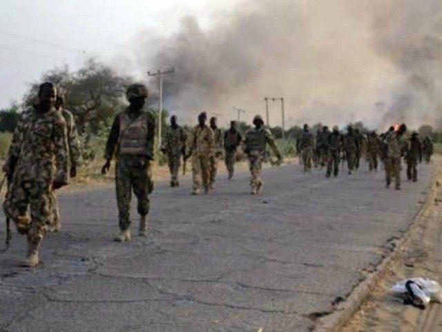 AFP PHOTO / NIGERIAN ARMY