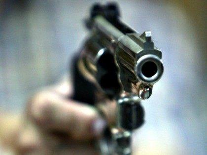 Raised Gun self-defense AP Photo/Seth Wenig