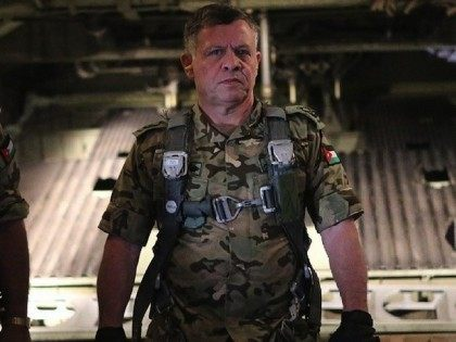 King Abdullah of Jordan in Fighting Gear