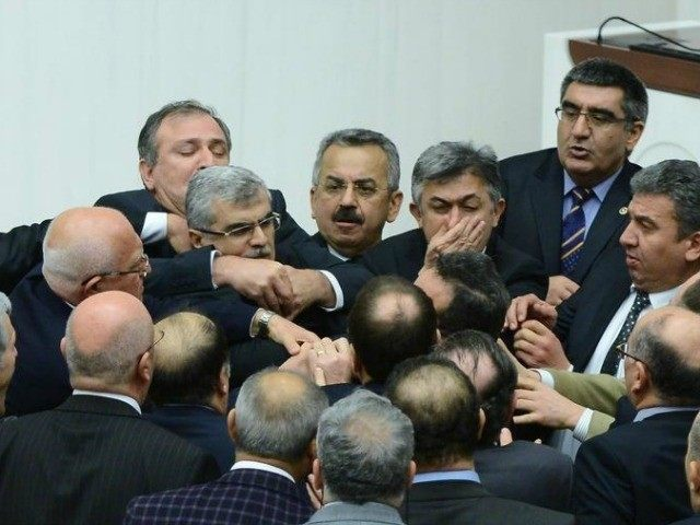 turkey-parliament-fight-AFP