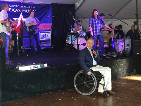 Abbott at Capitol Salute to Texas Music