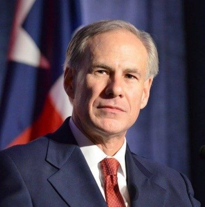 Abbott with TX Flag