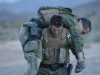 Photograph of Brian Terry carrying a BORTAC agent during training. Photo Courtesy Brian Terry Foundation.