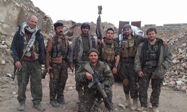 Chappy Kosta Lions Rojava Kneeling