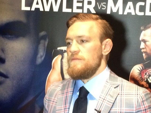 Conor McGregor in Boston 3 25 15
