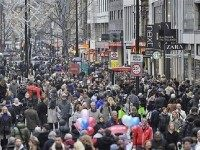 Crowded Britain Reuters
