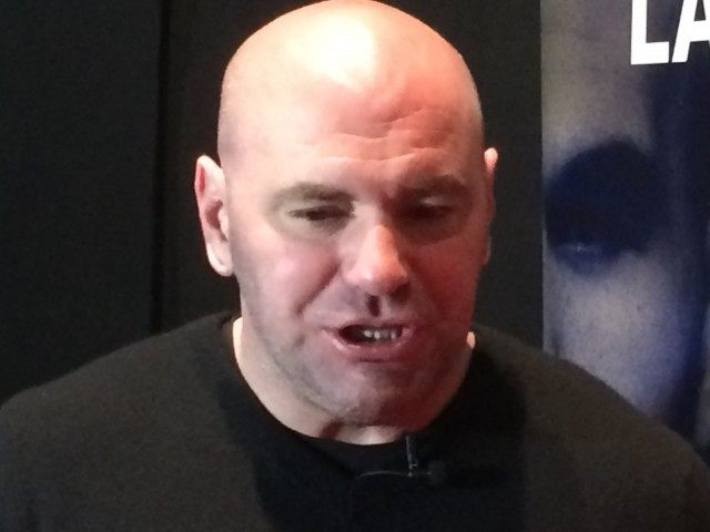 Dana White in Boston 3 25 15