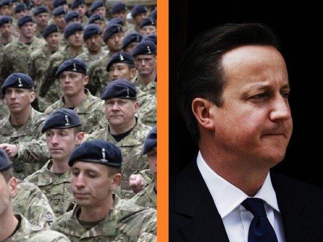 David Cameron Defence Cuts Reuters