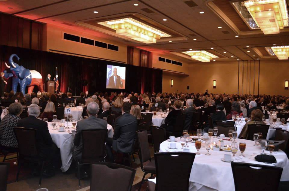 Denton County GOP 2014 Lincoln Reagan Dinner. Breitbart Texas photo by Bob Price.