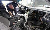 Drug Smuggling in Car - AP Photo - Gregory Bull