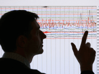 Earthquake Seismograph (David Moir / Reuters)