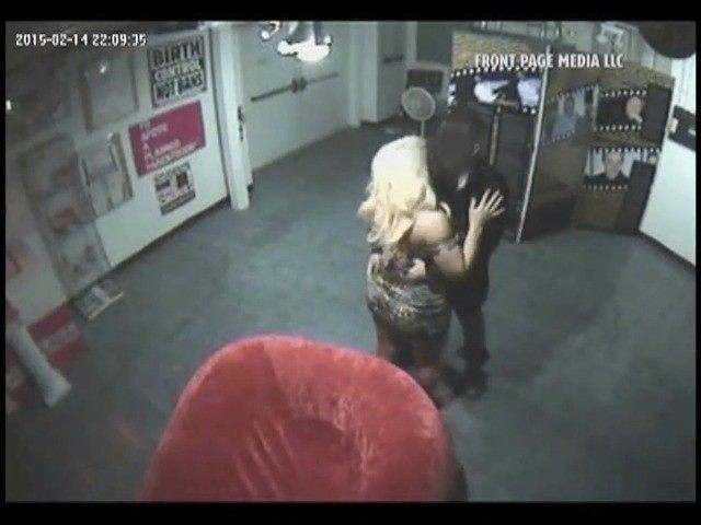 Erotic Heritage Museum security cam/TMZ