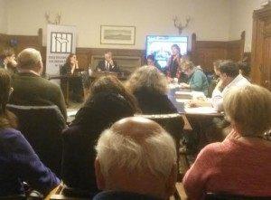Tonge tells audience UK should engage with Hamas.