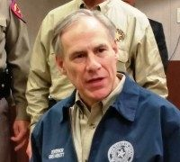 Greg Abbott at the Border
