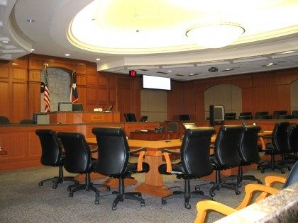 Harris County Courtroom