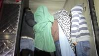 Immigrants in Refrigerated Trailer - Photo CBP