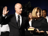 Jerry Brown (Ken James / UPI)