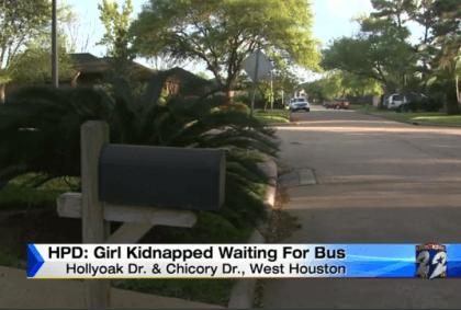 Katy ISD Girl Kidnapped