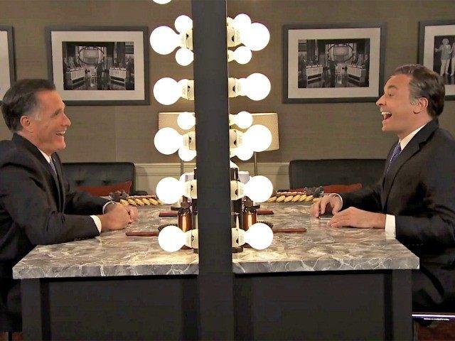 Mitt in the Mirror wih Jimmy Fallon NBC