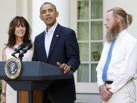 Obama Bergdahl Rose Garden (Jonathan Ernst / Reuters)