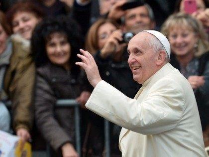 Pope Francis at Santa Maria Madre del Redentore Parish
