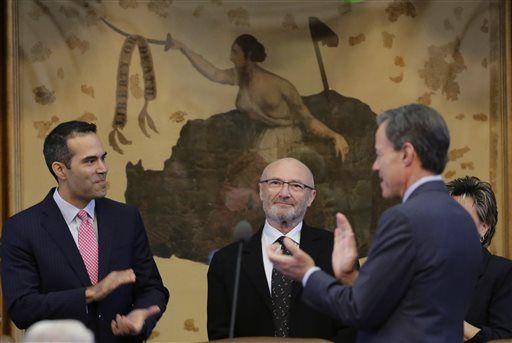 Phil Collins - Texas Legislature - AP PHOTO - Eric Gay