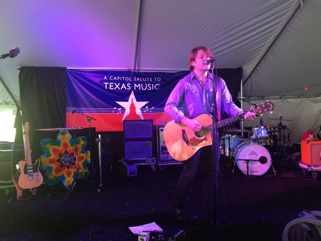 Carter Beckworth performs at a Capitol Salute to Texas Music. Photo by Sarah Rumpf.